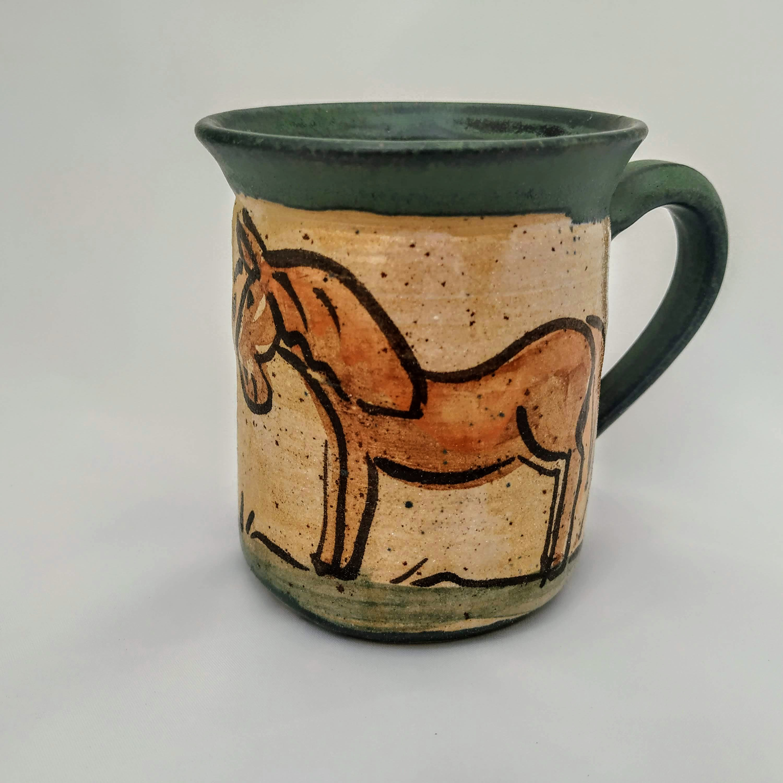 Kindertasse Pferd
