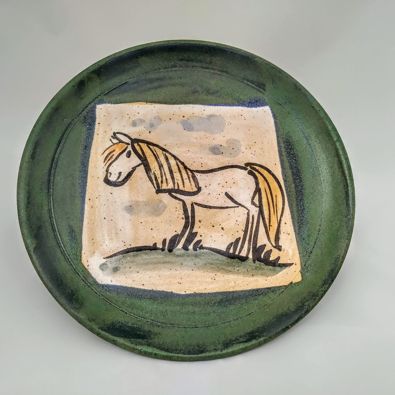 Kinderteller Pferd